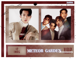 Pack Png 406 // F4 (METEOR GARDEN CAST). by xAsianPhotopacks