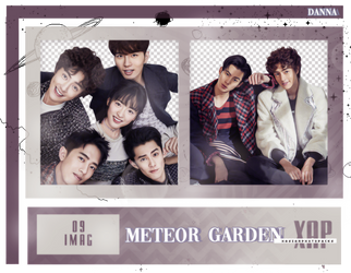 Pack Png 407 // METEOR GARDEN CAST. by xAsianPhotopacks