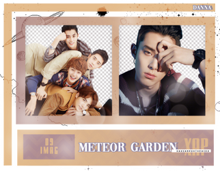 Pack Png 408 // METEOR GARDEN CAST. by xAsianPhotopacks