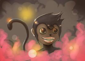 Monkey by MixedMilkChOcOlate