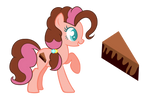MLP Chocolate Cake by CloudySunshineYT