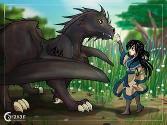 Caravan - Dragon Child by taste-of-teal