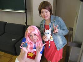 Hikari and Mimi Cosplay by mippa