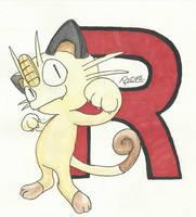 Kanto no. 052 Meowth by Randomous