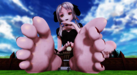 MMD Giantess - Castle's Gate by M87124