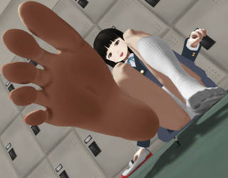 MMD Giantess - Ayami-chan v1.1 Update Release Pic by M87124