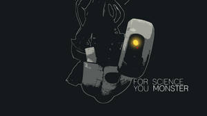 GLaDOS vector wallpaper by bohitargep