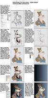Corel Painter Comic coloring by R0tti