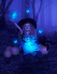 Witchcraft of the little witch by ArinDane