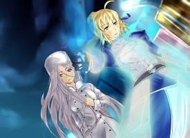 Fate Zero - En Garde by cafekun