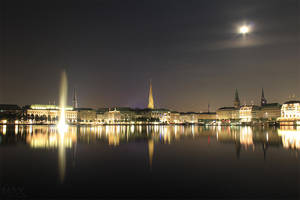 Hamburg - Skyline by m-eickhoelter