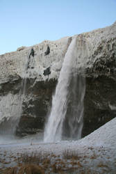 Iceland - Waterfall Seljalands by HenningOL