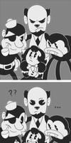 Luna Meets the Butcher Gang by 9CentsChange