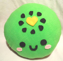 Kiwi Plush Pillow 1 by SugarJerseyJones