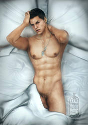 :: Piers in Bed: Semi-Censored :: by TheEternalHorus