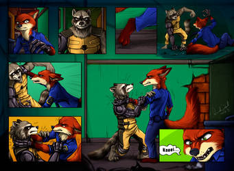 Zootopia - Comic by Amand4