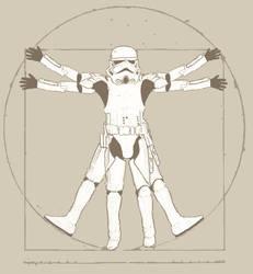 Vitruvian Trooper by cooperscooper