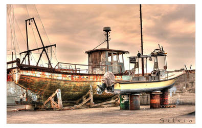 The old boats.. by silvioi