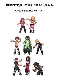 Gotta Pin 'Em All - Version 7 by Lizuka