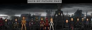 Earth-61619 Event - Days of Future Past by LoganWaynee