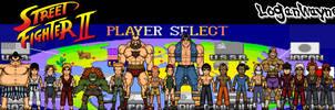 Street Fighter II by LoganWaynee