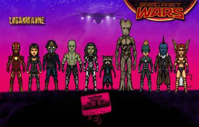 Guardians of the Galaxy (Secret Wars) by LoganWaynee