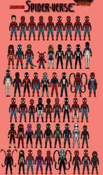 Spider-Verse (Secret Wars) by LoganWaynee