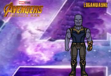 Thanos (Infinity War) by LoganWaynee