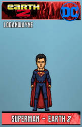 Superman (Earth-2) by LoganWaynee