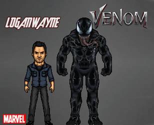 Venom (2018) by LoganWaynee