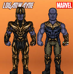 1000 Watchers Celebration (Thanos - Infinity War) by LoganWaynee