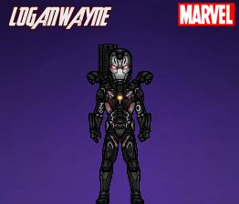 War Machine (Infinity War) by LoganWaynee