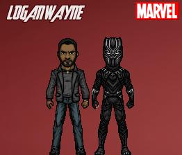 Black Panther (Civil War) by LoganWaynee