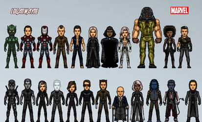 Marvel Cinematic Amalgam Universe #3 by LoganWaynee