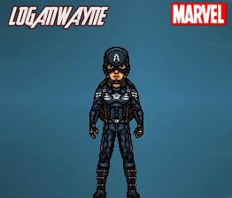 Captain America (Winter Soldier) by LoganWaynee