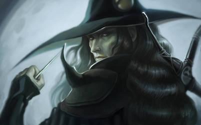Vlad as Vampire Hunter D by MirageMari
