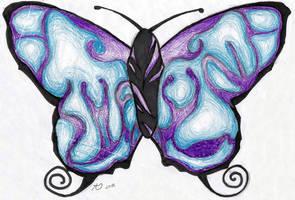 Tattoo Design -Butterfly- by Ferriman