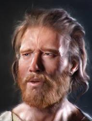 Man face study by Carl-Ellistrator