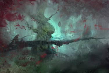 Tree swampsies by Carl-Ellistrator