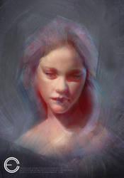 Girl Portrait by Carl-Ellistrator