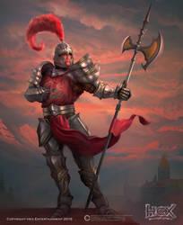 Hex - Knight Of Gawaine by Carl-Ellistrator