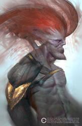 Redhead Grump Chump by Carl-Ellistrator