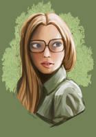 Margaret Digital Portrait Commission by Anspire