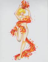 Fire Elemental by Anspire