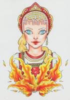 Lady Maslenitsa by Anspire