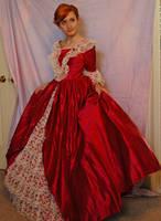 Elegant Gown 2 by Valentine-FOV-Stock