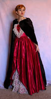 Cloaked Elegant Gown 2 by Valentine-FOV-Stock