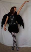 Dark Fae Dancer by Valentine-FOV-Stock
