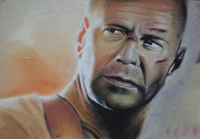 Bruce Willis by brentonmb