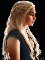 Daenerys Targaryen by brentonmb